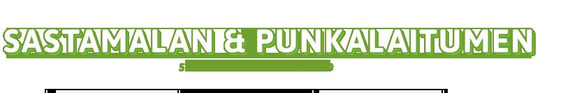 Туристический сайт региона Састамала - Пункалайдун