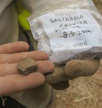 Tutkimustuloksia Sastamalan Kaukolan kaivauksilta 2014
