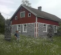 Rudangon taiteilijakoti-näyttely.