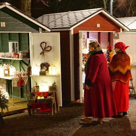 Vanhan ajan joulumarkkinat