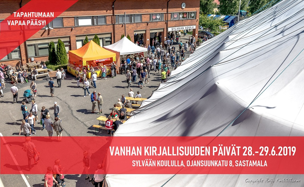 Vanhan kirjallisuuden päivät 28.-29.6.2019