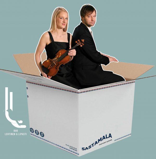 Musiikkiboxi -konsertti lapsille ja nuorille, Duo Lehtinen & Lipasti