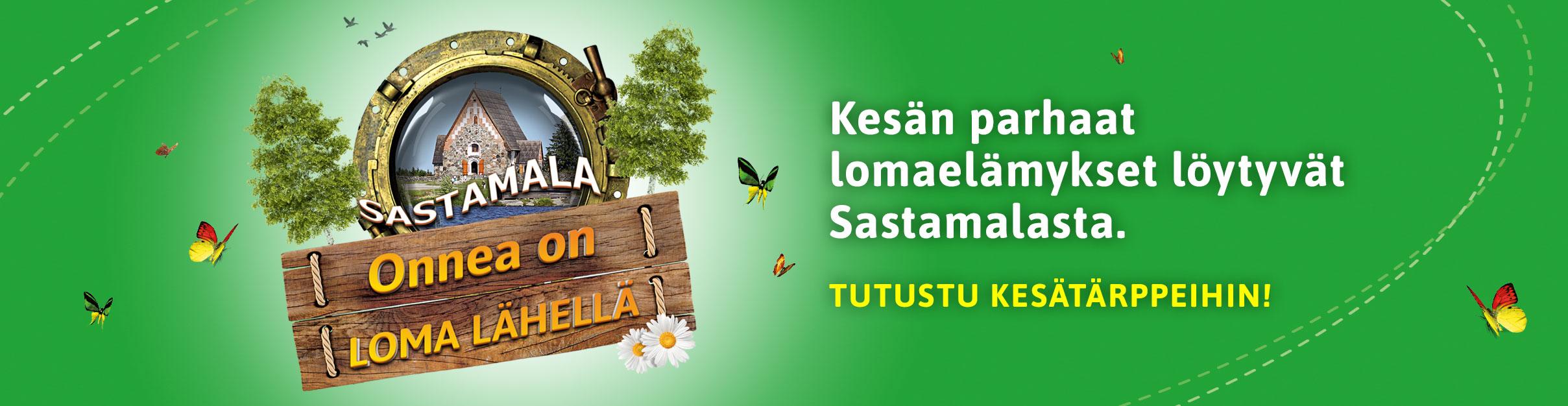 Visit Sastamala, tutustu kesätärppeihin!