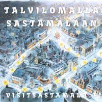Talvilomalla Sastamalaan ja kaupunkikuva