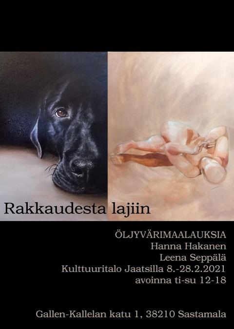 Rakkaudesta lajiin, Hanna Hakanen ja Leena Seppälä