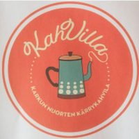 Kahvilla kärrykahvilan logo